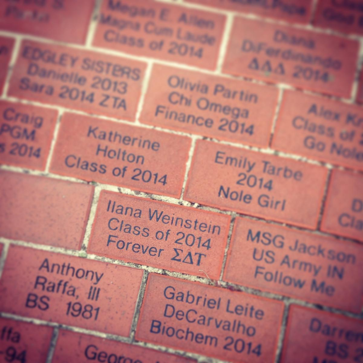 Brick inscriptions